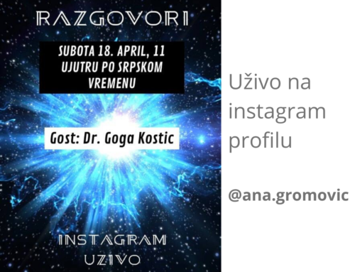 Instagram uživo – subota, 18.april u 11h